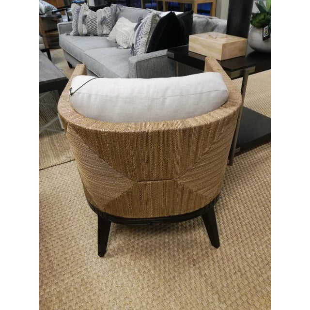 Palecek Cameron Lounge Chair by Palacek For Sale - Image 4 of 8