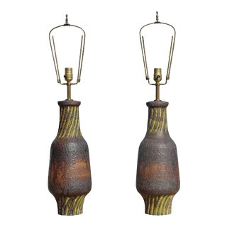 Pair of Marcello Fantoni Lamps For Sale