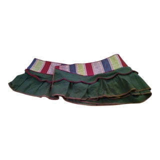 Authentic Mid-Century Fabric Valance