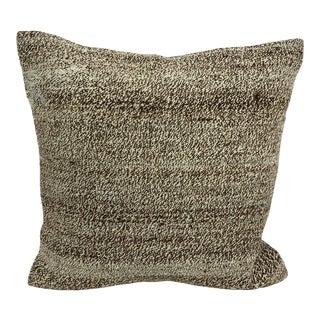 Turkish Anatolian Aztec Decorative Kilim Pillow Cover For Sale