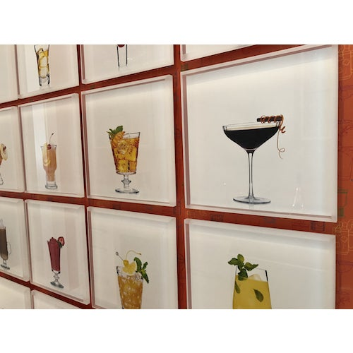 Acrylic 'Manhattan' Limited-Edition Cocktail Portrait Photograph For Sale - Image 7 of 10
