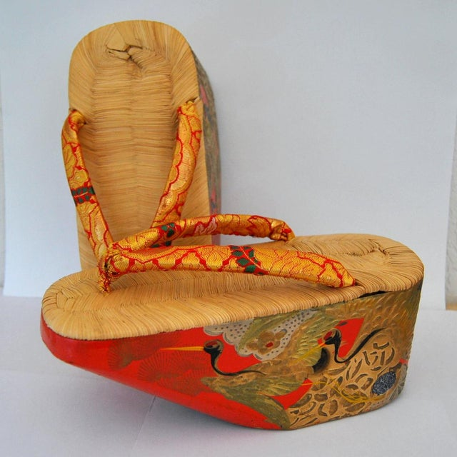 42336f73f9e7a Okobo are simple elevated sandals that consist of a block of wood from a  willow tree. Asian Post Wwii Japanese Maiko ...