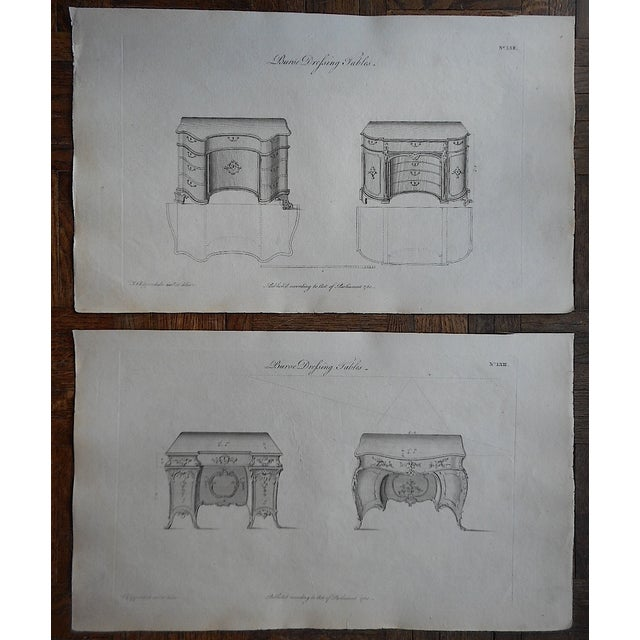18th-Century Chippendale Furniture Engravings - Image 2 of 3