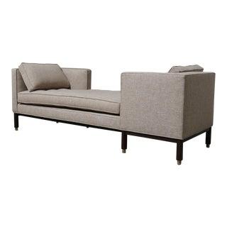 Edward Wormley Dunbar Tête-à-Tête Sofa For Sale