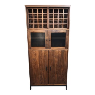 Room & Board Linear Modern Bar Cabinet