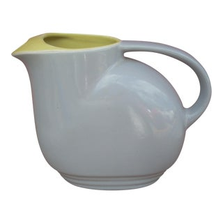 Vintage Hall Pottery Iced Tea Pitcher