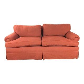 Belmar Contemporary Red Custom Sofa