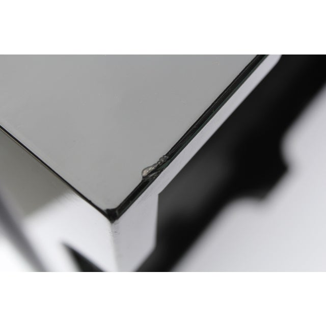 "Oomph ""Edgartown"" Square Black Lacquer Tray - Image 5 of 8"