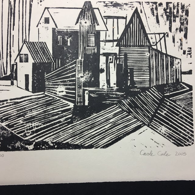 Woodblock Print Carole Cole Limited-Edition, 2005 For Sale - Image 5 of 7