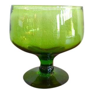 Blenko Handblown Art Glass Compote