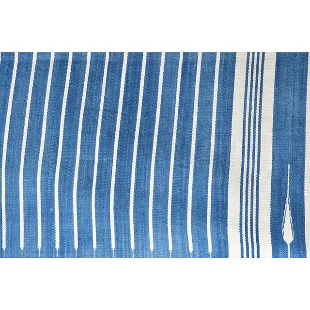 Casa Cosima Amaranthus Rug, 9x12, Blue & White For Sale - Image 4 of 5