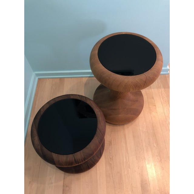 Autoban Mushroom Side Tables - A Pair For Sale - Image 4 of 6