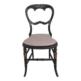 Mid 19th Century Antique Victorian Chair For Sale