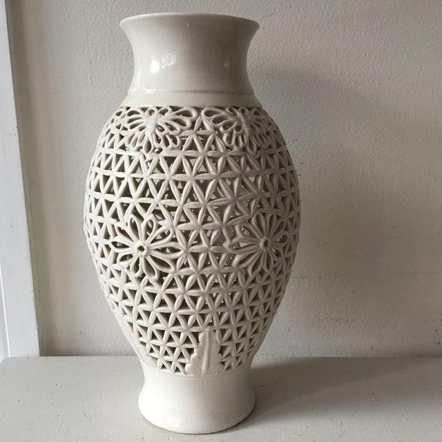 Blanc De Chine Pierced Jar For Sale - Image 4 of 6