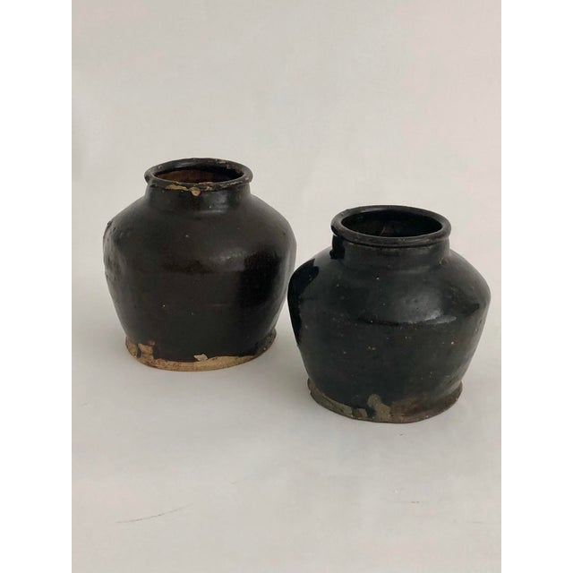Antique Chinese Shanxi Pot For Sale In Los Angeles - Image 6 of 7