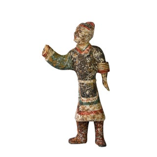 Chinese Han Terracotta Figure For Sale