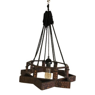Moroccan Colonial Light Fixture For Sale