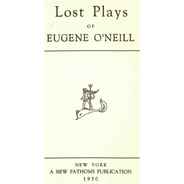'Lost Plays' by Eugene O'Neill - Image 2 of 3