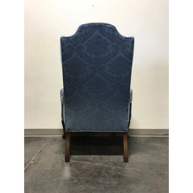 Drexel Classics Queen Anne Wingback Wing Chair - Image 8 of 10