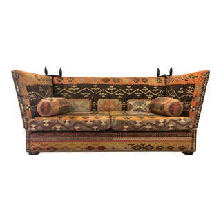 "George Smith Kilim ""Tiplady"" Knole Sofa"