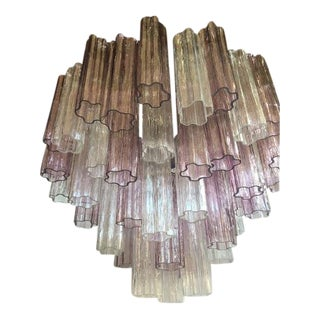 "Chandelier Murano Glass ""Tronchi"" For Sale"