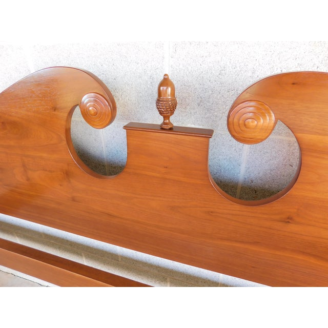 Wood Suter's Reproductions Acorn Poster King Size Bed For Sale - Image 7 of 12