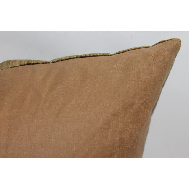 Green Velvet Boslter Pillow For Sale In Los Angeles - Image 6 of 6