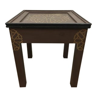 Handmade & Hand-Painted Moroccan Side Table
