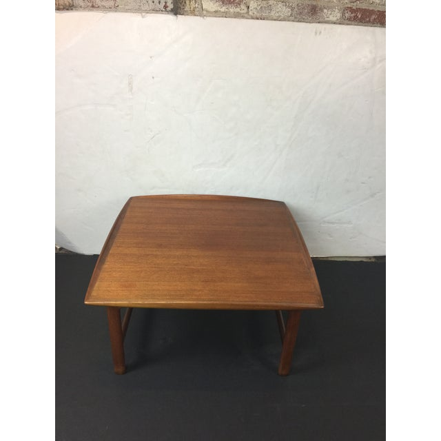 1980s Scandinavian Modern Dux Sweden Teakwood Coffee Table For Sale - Image 11 of 13