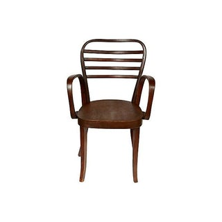 1930's Spanish Bentwood Chair For Sale