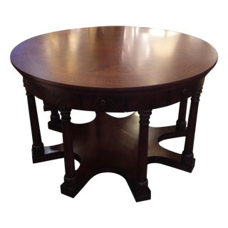 New South Hampton Column Entry Table For Sale