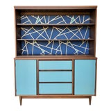 Image of 1960's Mid Century Modern China Cabinet For Sale