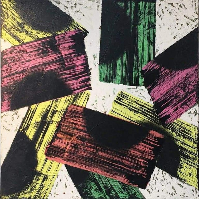 Abstract Catharine Warren Catharine Warren (11) Painting For Sale - Image 3 of 3