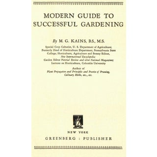 Modern Guide to Successful Gardening Book Preview