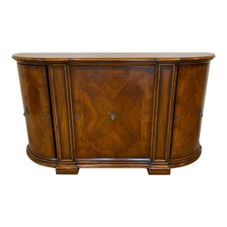 Traditional Wooden Buffet Cabinet For Sale
