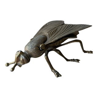 1960s Italian Metal Insect For Sale