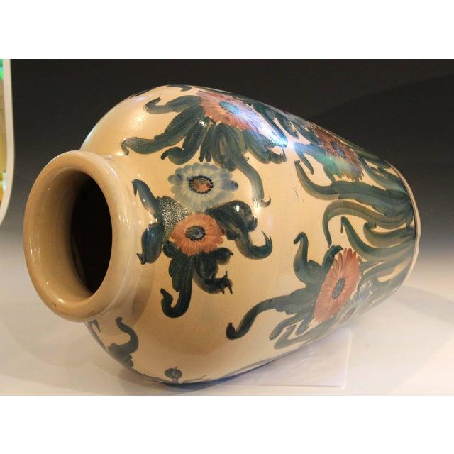 Big Rrp Co Robinson Ransbottom Roseville Garden Urn Pottery Porch Floor Vase For Sale In New York - Image 6 of 11