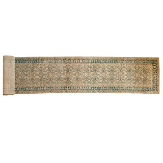 "Vintage Distressed Hamadan Rug Runner - 2'9"" X 26'4"" For Sale"