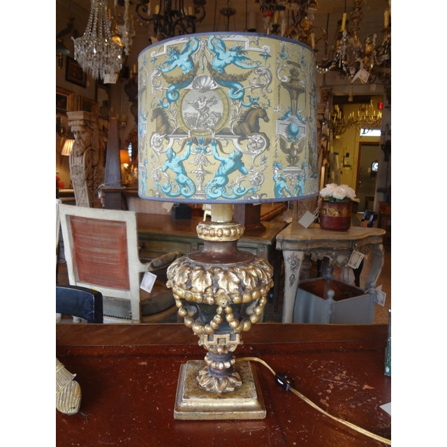 Italian 19th Century Single Lamp For Sale - Image 11 of 11