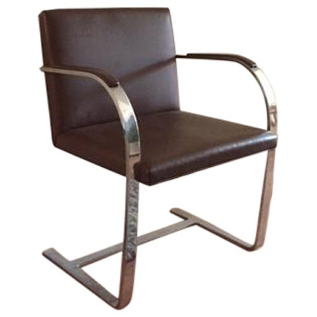 Mies van der Rohe Brno Leather Armchair - Image 1 of 5