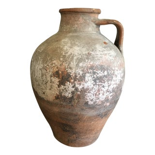 19th Century European Pottery Jug For Sale
