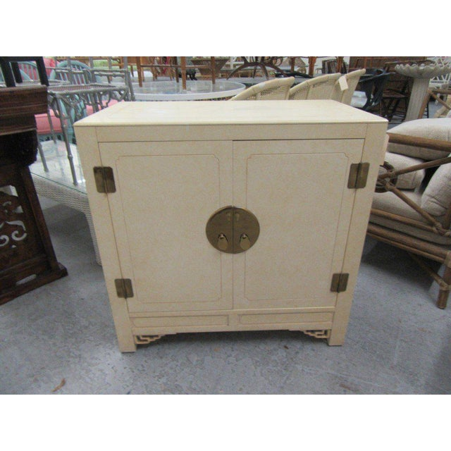 Metal Oversized Asian Inspired Chest For Sale - Image 7 of 7