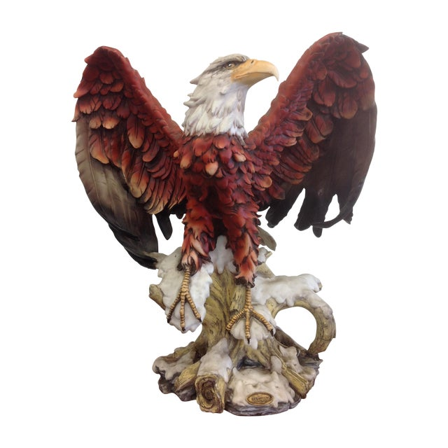 DeCapoli Collection Bald Eagle Sculpture For Sale