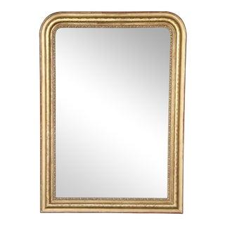 19th Century Louis Philippe Gilt Mirror For Sale