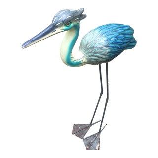 1960s Vintage Bustamonte Style Paper Mache Pelican Bird