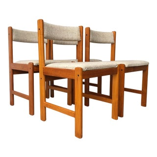 Vintage Mid Century Danish Modern Dining Chairs by Findahls Mobelfabrik (Set of Four) For Sale