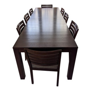 Ethan Allen Midtown Dining Table Set For Sale