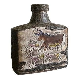 Scheurich Keramik Fat Lava Vase For Sale
