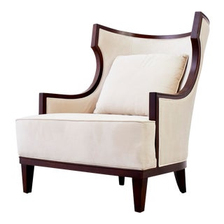 Precedent Modern Wingback Chair For Sale