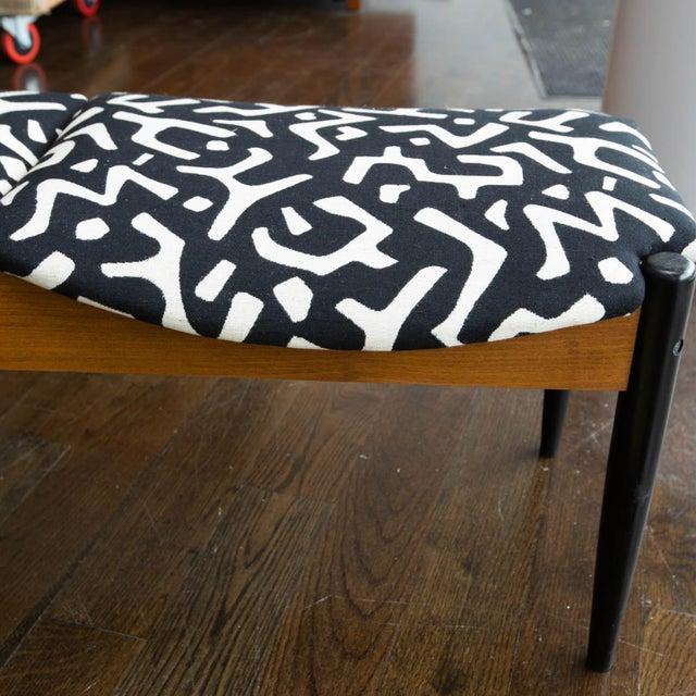 Tan John Stuart Style Mid Century Three-Seat Bench For Sale - Image 8 of 9